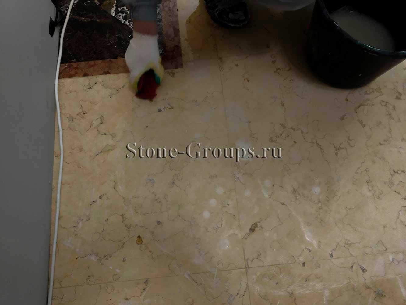 Как отремонтировать сколы на мраморе