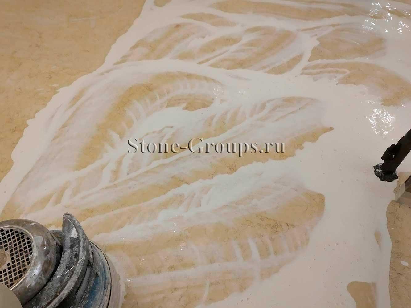 Шлифовка полировка мрамора