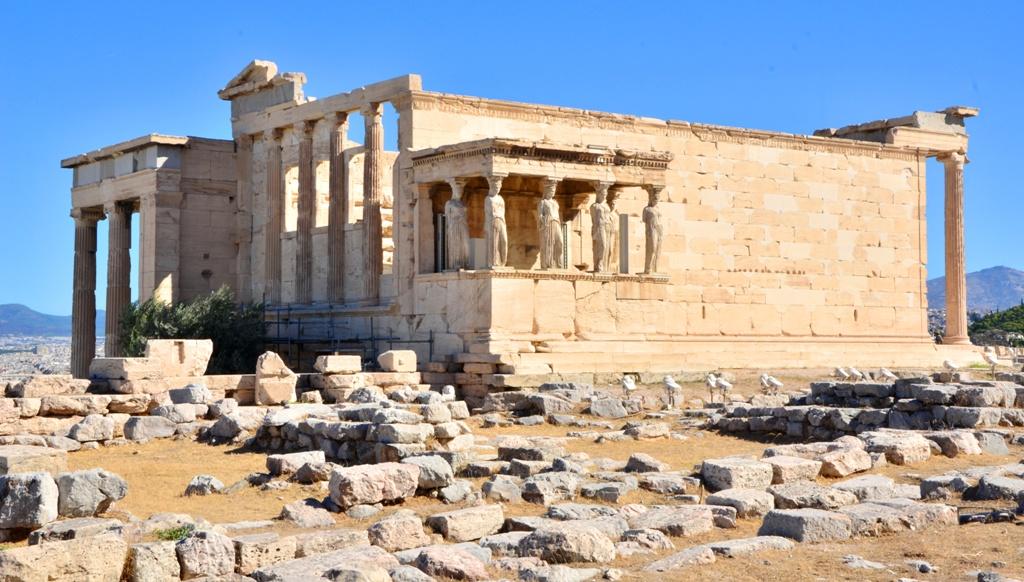 фото храма Эрехтейон