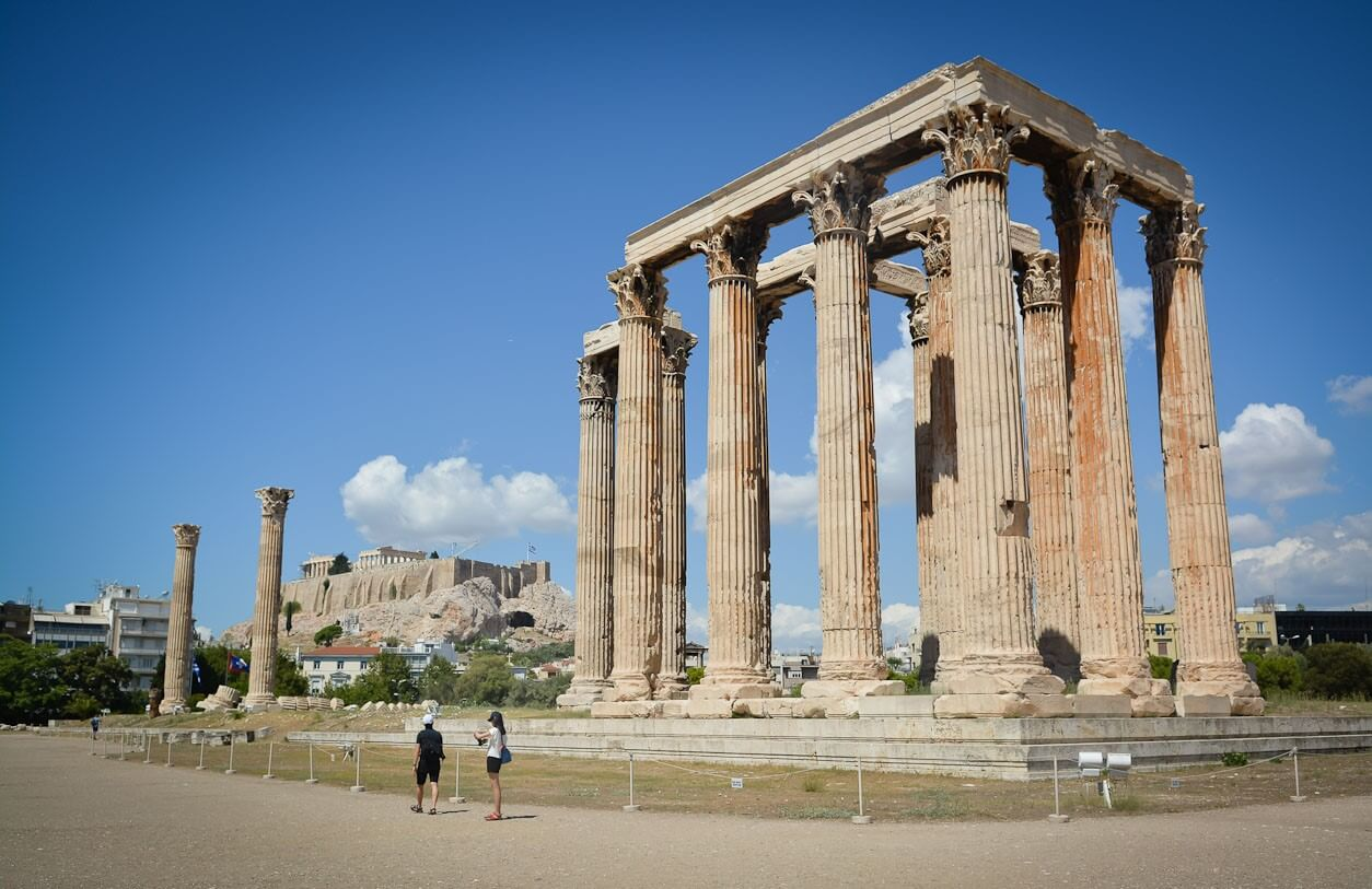 Фото храма Зевса в Олимпе