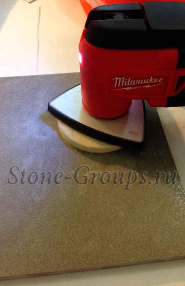 Полировка кафельной плитки