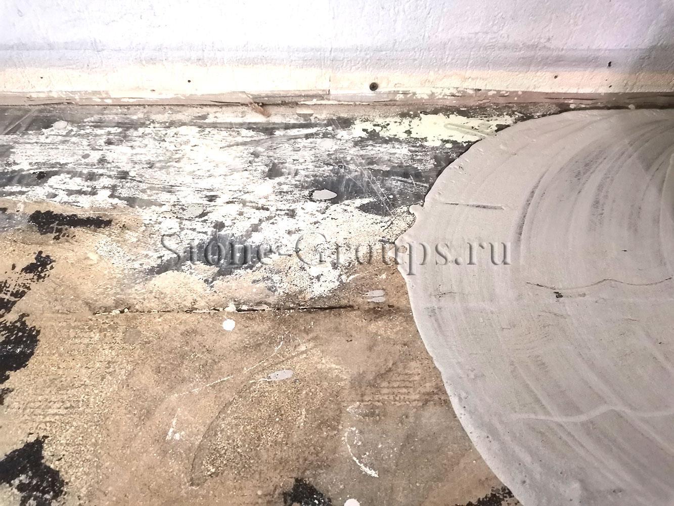 Шлифовка полировка мрамора Москва